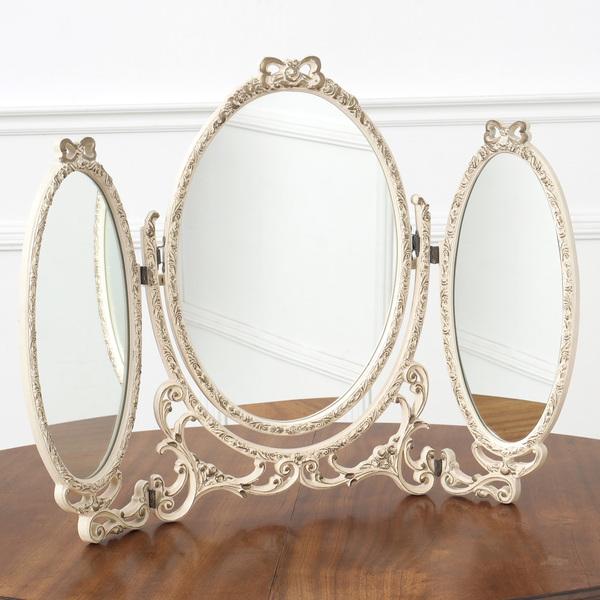 クラシック  卓上型3面鏡