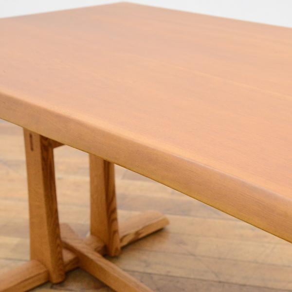 #33639 無垢材 クルミ x オークダイニングテーブル コンディション画像 - 2