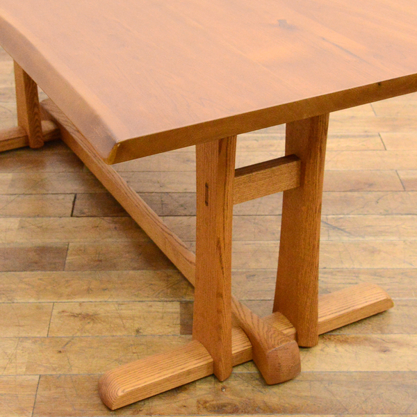 #33639 無垢材 クルミ x オークダイニングテーブル コンディション画像 - 3
