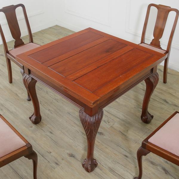 チッペンデール ドローリーフテーブル