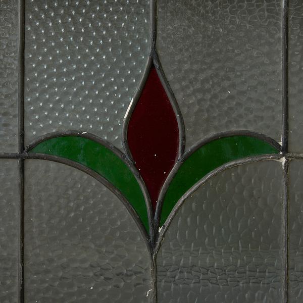 アールデコスタイル ステンドグラス 4点セット