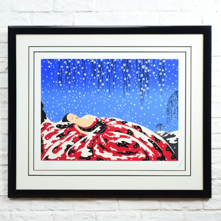 ERTE [ Sleeping Beauty ] 1988年 174/300 シルクスクリーン 大判額装