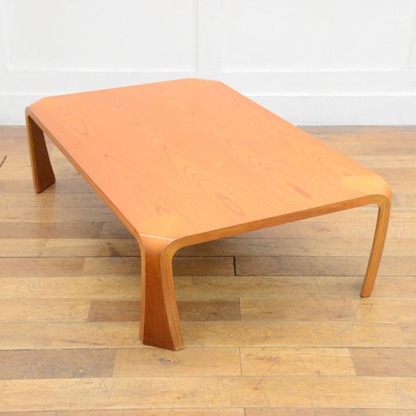 天童木工 ケヤキ 座卓