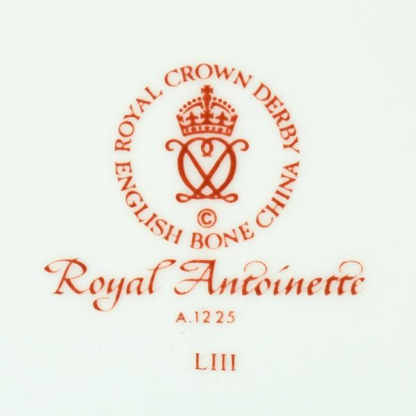 ROYAL CROWN DERBY / Royal Antoinette プレート10点