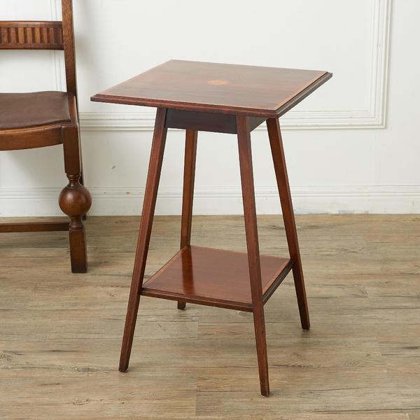イギリス製 象嵌装飾 サイドテーブル