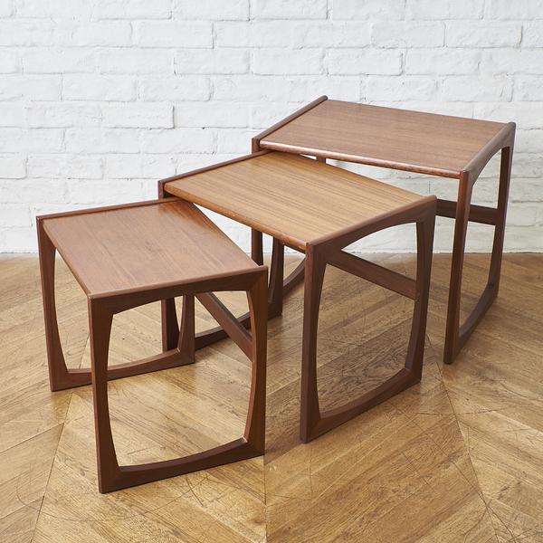 ジープラン G-PLAN / UK G-Plan Quadrille ネストテーブル