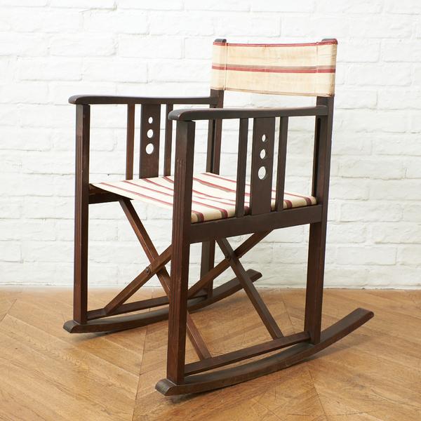 日本楽器製造株式会社 YAMAHA / Japan 日本楽器 山葉文化椅子 折畳式 ロッキングチェア