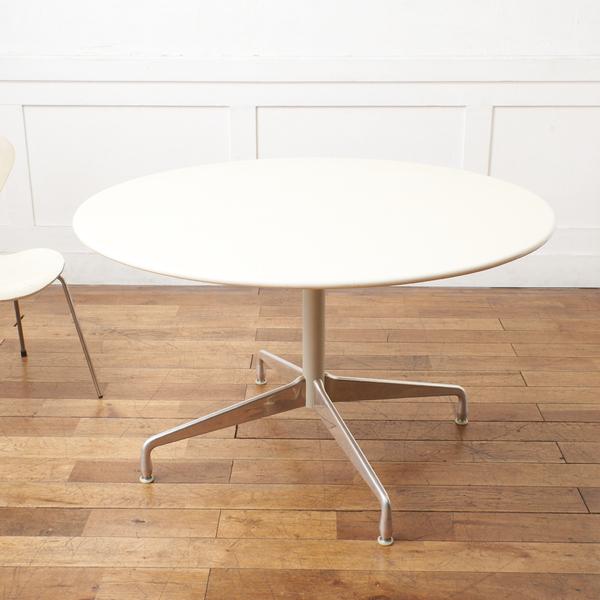イームズテーブル アルミナムベース 人工大理石トップ ラウンド ダイニングテーブル