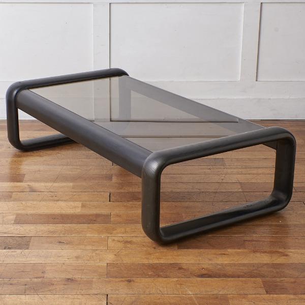 ローゼンタール Rosenthal / Germany Rosenthal / Studio Linie HOMBRE スモークガラス センターテーブル