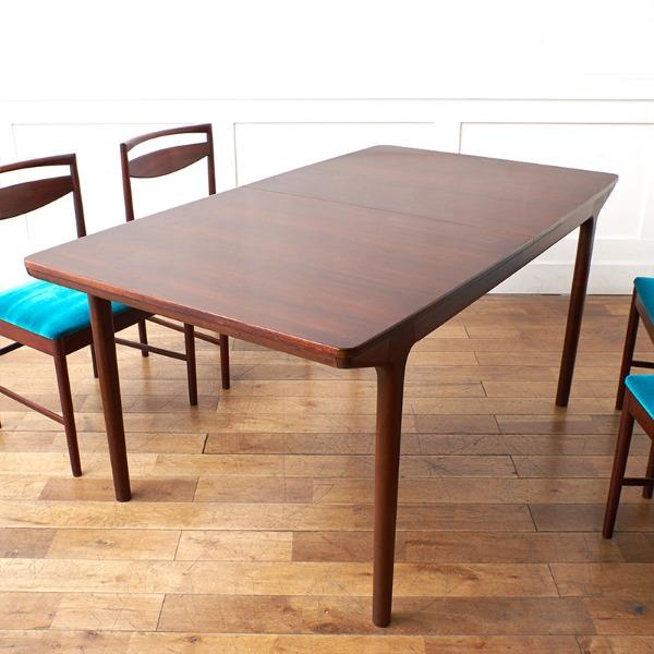 A.H.McINTOSH ローズウッド材 2段階 エクステンション ダイニングテーブル