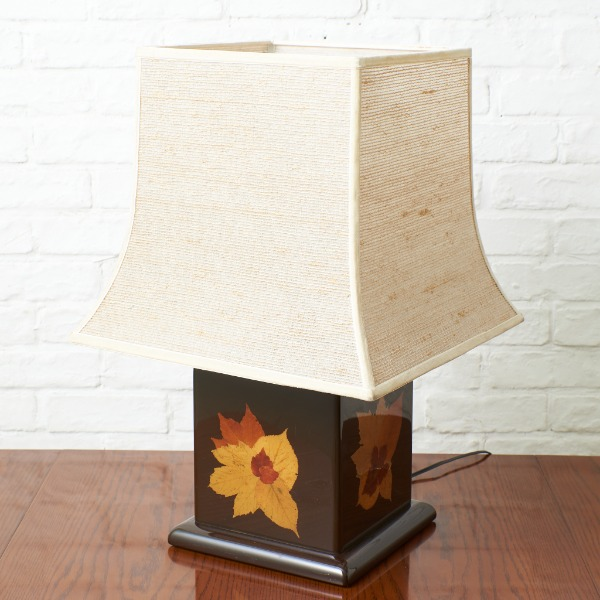 イタリア製 押し葉 テーブルランプ