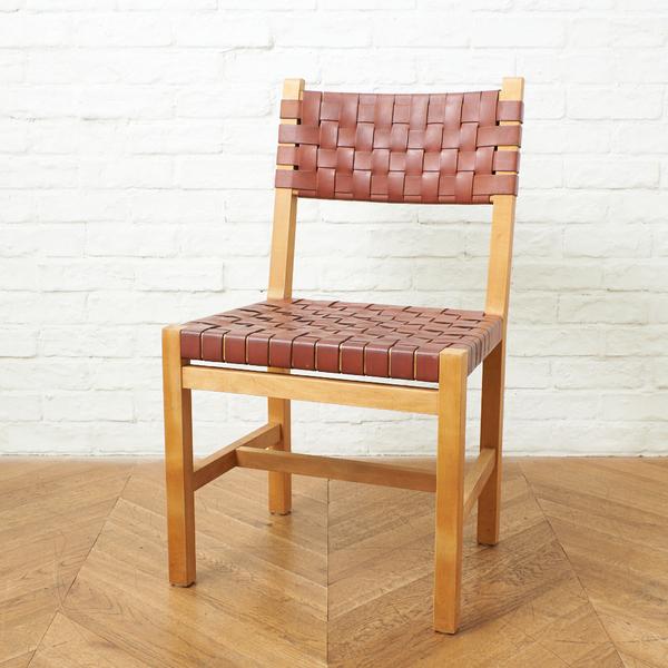 北の住まい設計社 Rustic chair 革バンド