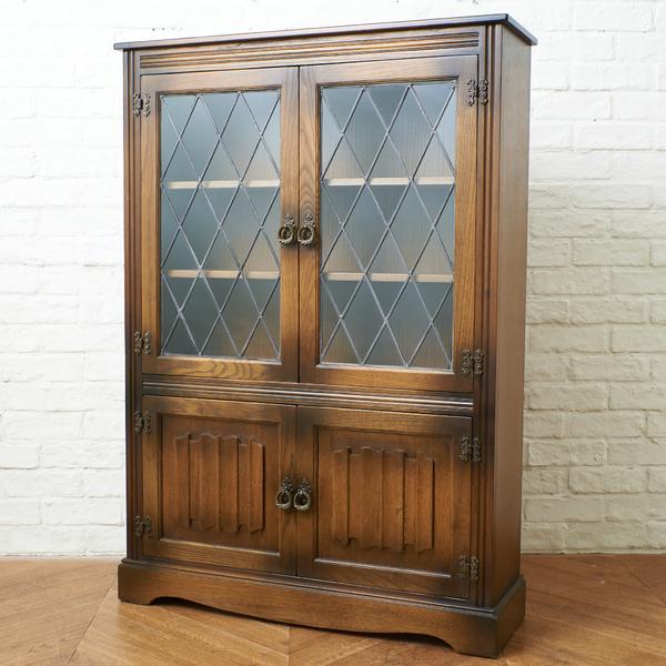 マグナム・ファニチャー Magnum Furniture / UK 英国アンティーク スタイル オーク材サイドテーブル