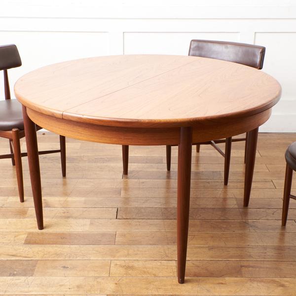 ジープラン G-PLAN / UK G-PLAN エクステンション ラウンドダイニングテーブル