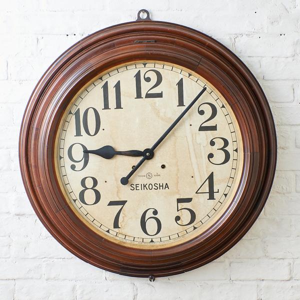 精工舎 SEIKOSHA / Japan 精工舎 大型掛け時計