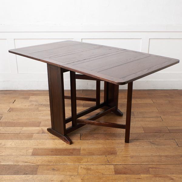 英国 アンティーク ドロップリーフテーブル