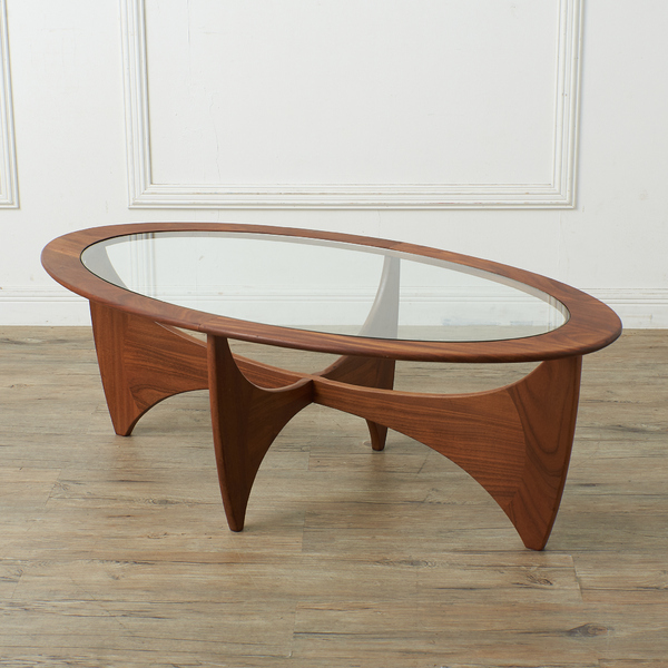 ジープラン G-PLAN (エベネゼル・グーム Ebenezer Gomme) / UK G-PLAN オーバルコーヒーテーブル(astroオーバルテーブル)