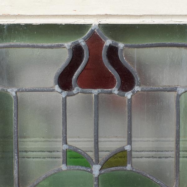 #37082 イギリス アンティーク アールデコスタイル ステンドグラス窓 コンディション画像 - 2