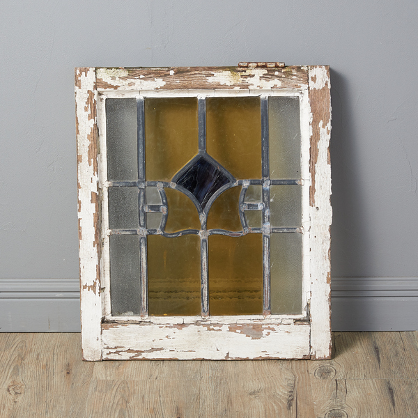 英国アンティーク ステンドグラス窓