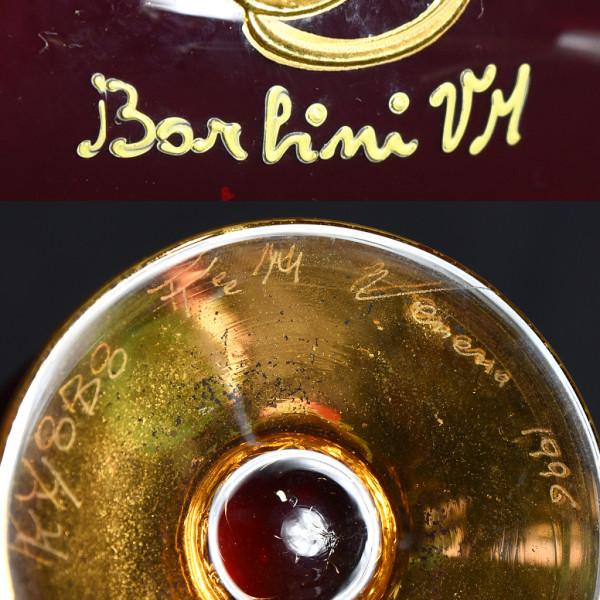 ベネチアングラス 金彩花盛 デキャンタ&ワイングラス 7点セット