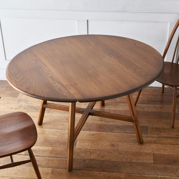 アーコール ERCOL / UK オールドコロニアル ドロップリーフテーブル