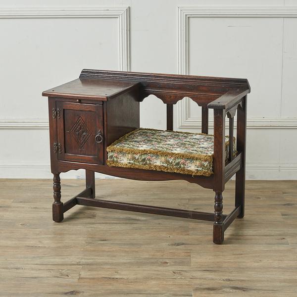 ジェイシーファニチャー jaycee furniture 英国クラシック テレフォンベンチ