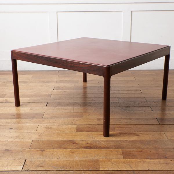 デンマーク製ヴィンテージ ブラジリアンローズウッド センターテーブル