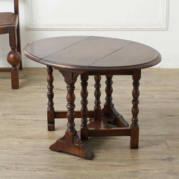 英国アンティーク ゲートレッグサイドテーブル