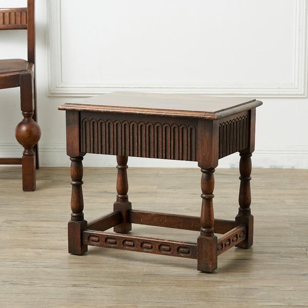 ジェイシーファニチャー jaycee furniture 引き出し付きスツール