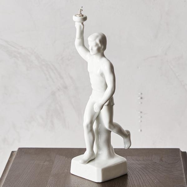 記念品 1936年 ベルリン 夏季 オリンピック 聖火ランナー 陶器置物