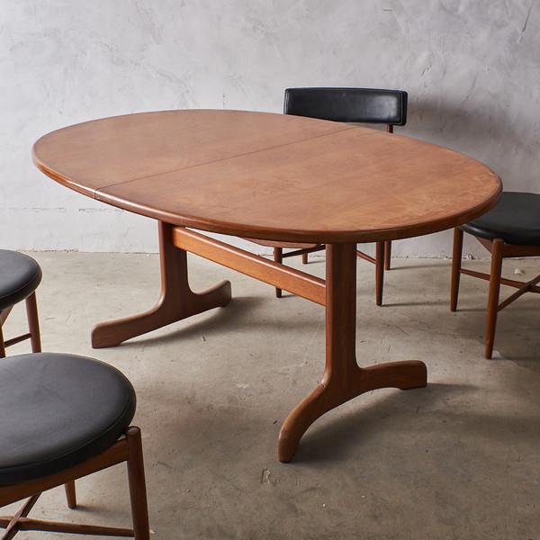 ジープラン G-PLAN Fresco ホエールレッグ エクステンションダイニングテーブル 4393