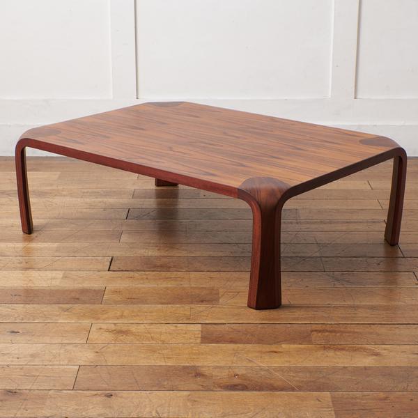 天童木工 Tendo ブラジリアンローズウッド 座卓