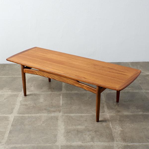 ジープラン G-PLAN brasilia センターテーブル (ソリッドチークロングジョンテーブル)