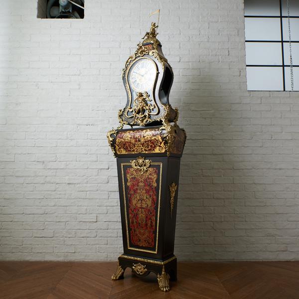 イタリア製 木象嵌 ホールクロック