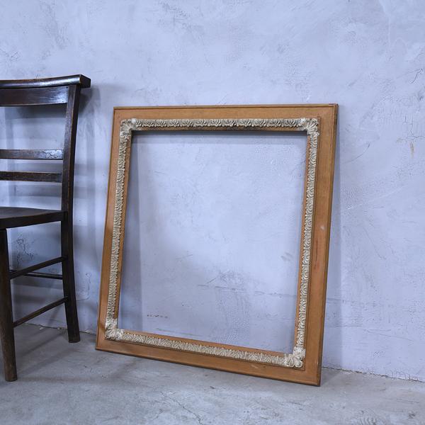 #38808 古い木製 額 フレーム コンディション画像 - 2