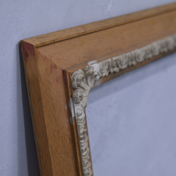 #38808 古い木製 額 フレーム コンディション画像 - 3