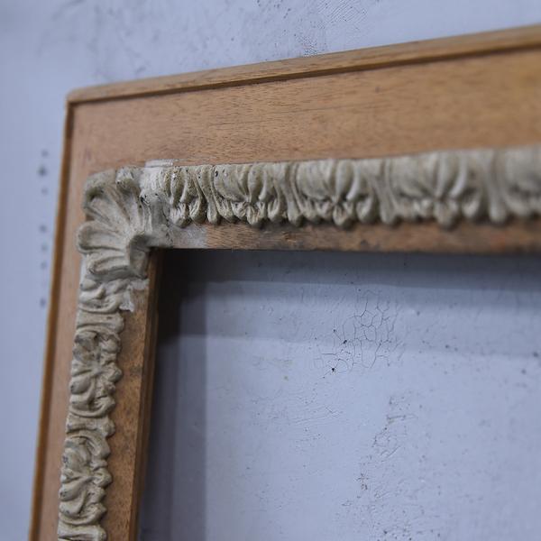 #38808 古い木製 額 フレーム コンディション画像 - 4
