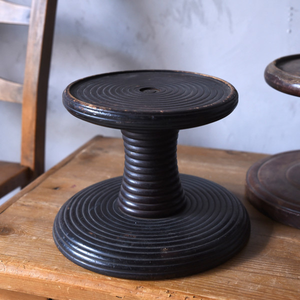 木製 扇風機台