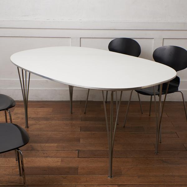 フリッツハンセン Fritz Hansen B-TABLE スーパー楕円テーブル