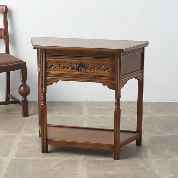 英国製 アンティークスタイル コンソールテーブル