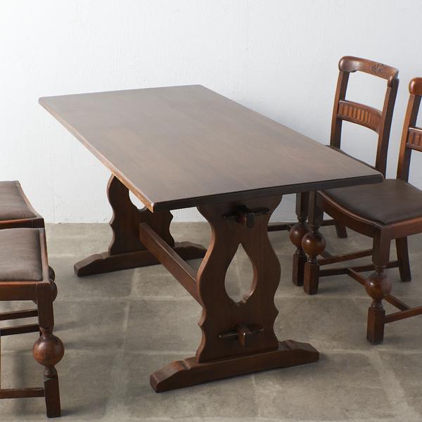 ジェイシーファニチャー Jaycee Furniture オーク無垢材 リフェクトリーテーブル