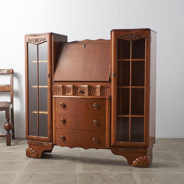 Validity Furniture 英国アンティーク サイドバイサイドビューロー