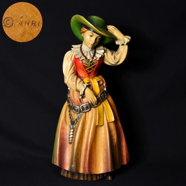 アンリ ANRI 大型 木彫人形
