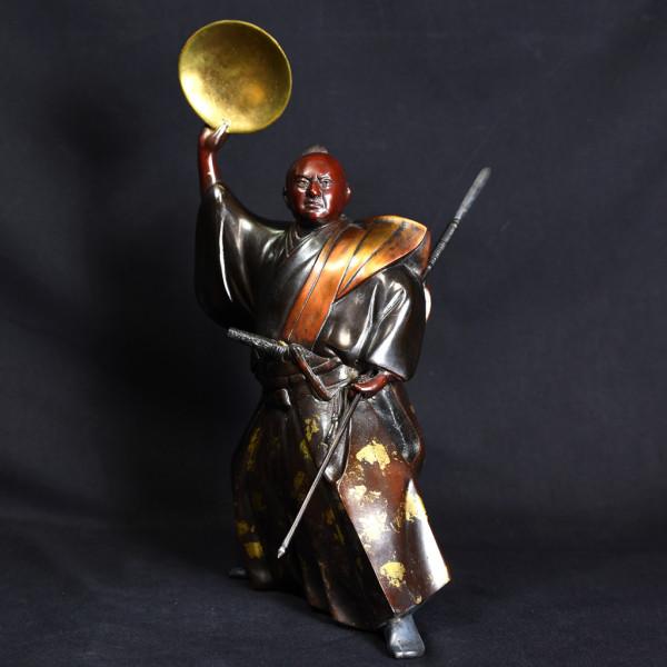 黒田武士 ブロンズ像