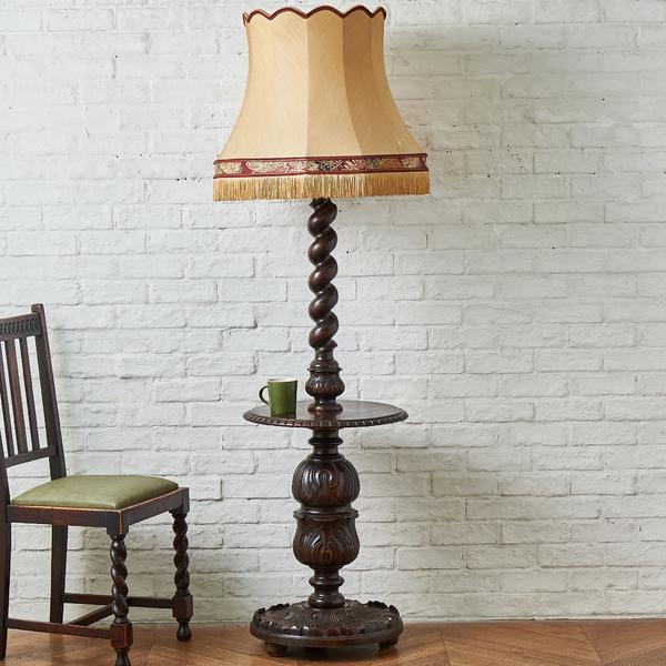 クラシック ランプ型サイドテーブル