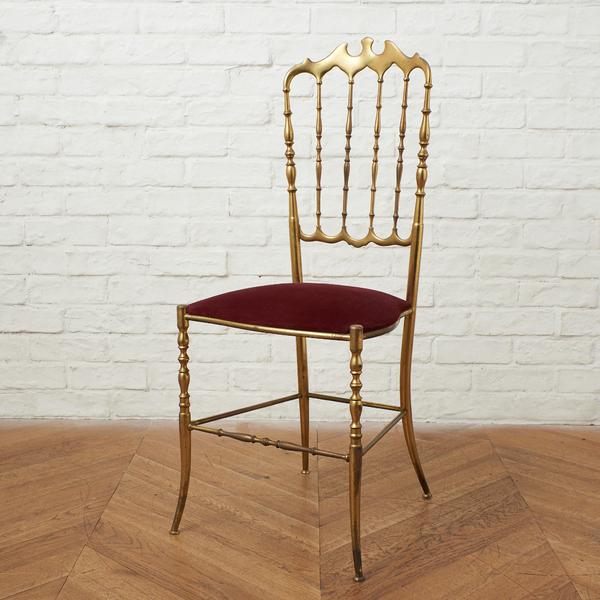 イタリア 真鍮製 Chiavari chair