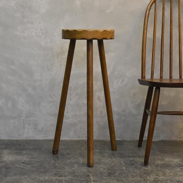 イギリス製 古い木製 オケージョナルテーブル