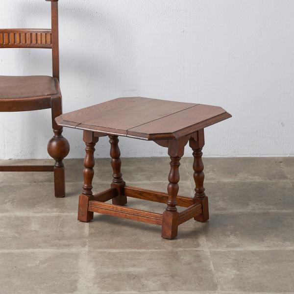 英国製 アンティーク ドロップリーフ オケージョナルテーブル