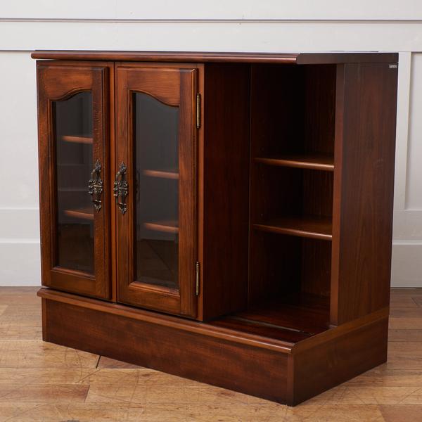 カリモク karimoku コロニアル スライド式 書棚