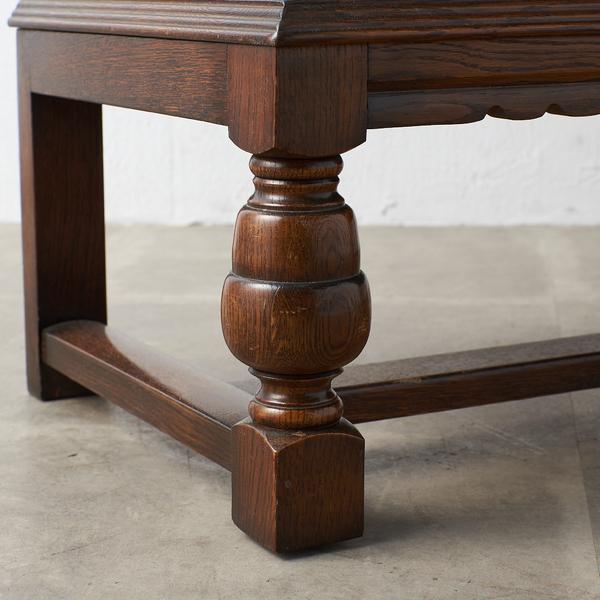 #39290 イギリス 1940年代 オーク 木彫刻 キャビネット コンディション画像 - 4